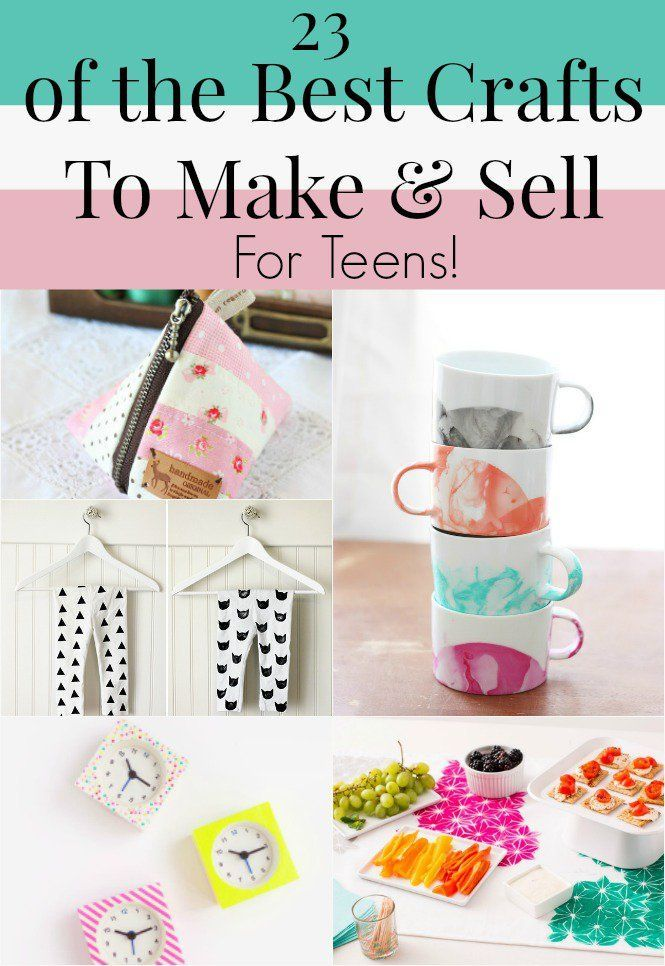 The best crafts to make and sell for teen entrepreneurs for Making craft items to sell