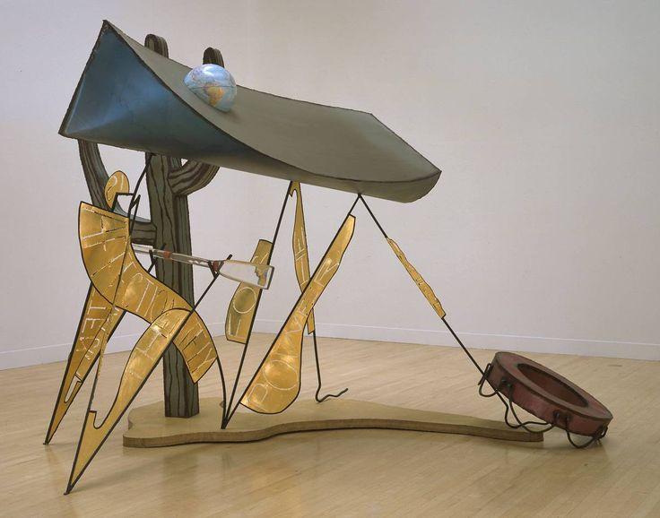 Bill Woodrow: The Glass Oar, 1989