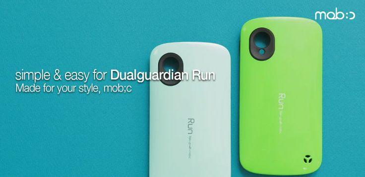 Google Nexus 5 Mob:C Dualguardian Run Stylish Hard Case - Simple & Easy