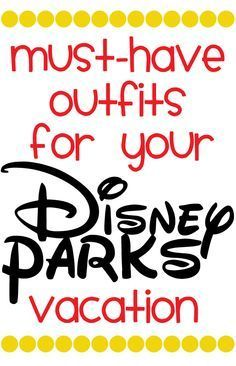 What to wear to Disney :: outfit inspiration for each WDW