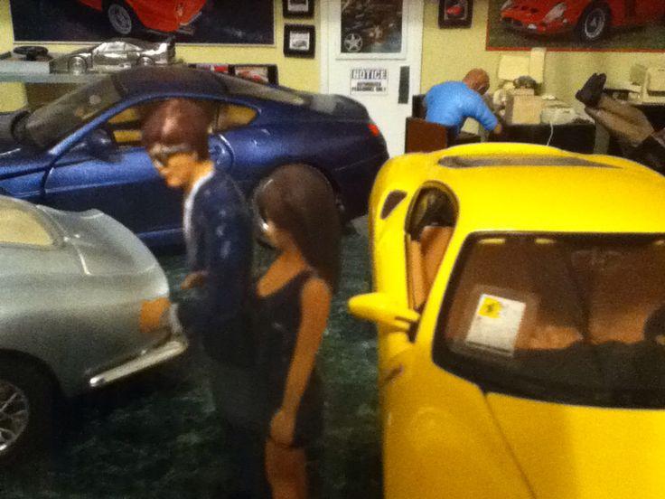 1/24 Ferrari Dealership