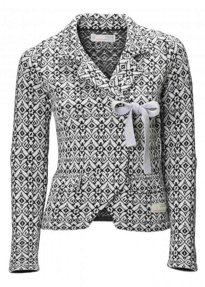 Odd Molly Lovely Knit Jacket 615M-233 almost black – acorns