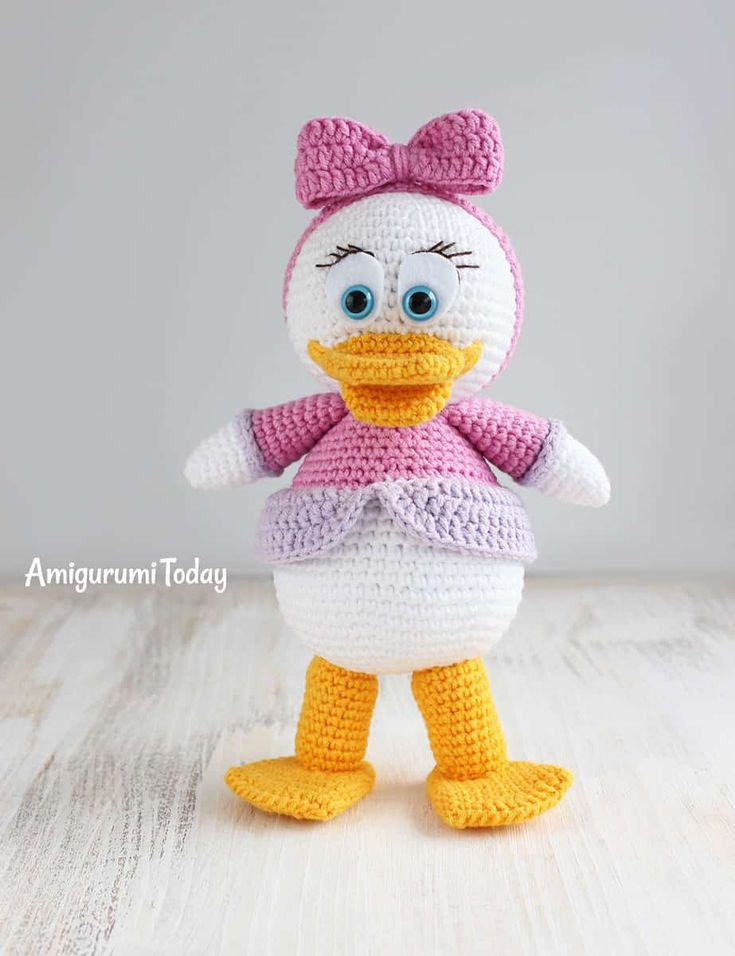 Amigurumi Webby Duck pattern by Amigurumi Today