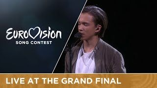 LIVE - Frans - If I Were Sorry (Sweden) at the Grand Final 2016 Eurovision Song Contest, one of my favorite songs, distinctive voice, no crammed performance, great (place 5, 261 points)