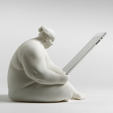 Now available for pre-order  Venus of Cupertino - iPad Docking Station, Open Edition