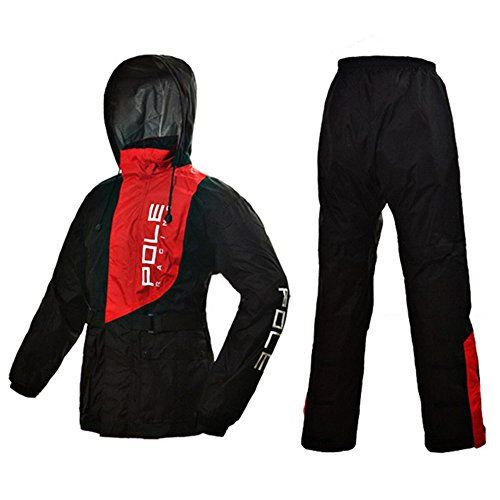 ILM 5 Colors Motorcycle Rain Gear Suit Powersports Jacket Pants For Women Men Riding (M, RED) - http://www.caraccessoriesonlinemarket.com/ilm-5-colors-motorcycle-rain-gear-suit-powersports-jacket-pants-for-women-men-riding-m-red/  #Colors, #Gear, #Jacket, #Motorcycle, #Pants, #Powersports, #Rain, #Riding, #Suit, #Women #Motorcycle, #Protective-Gear