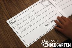 We LoVe to Write!! - Miss Kindergarten