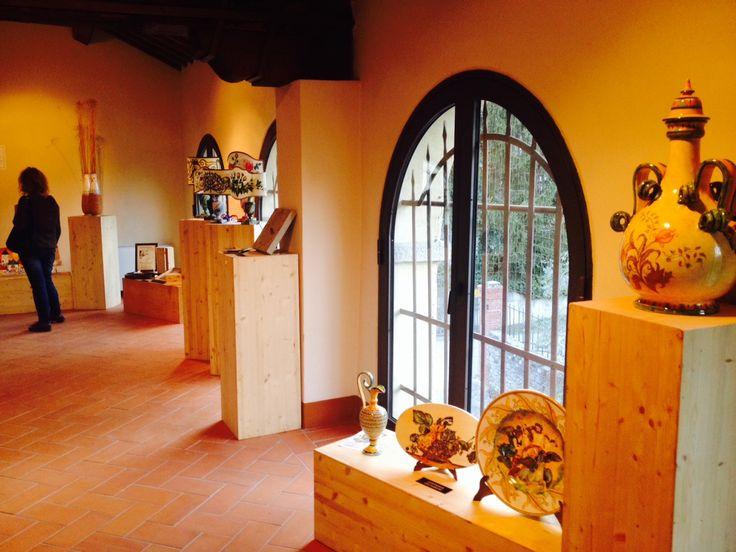 Gli artigiani di Confartigianato Artistico in Mostra ad Anghiari
