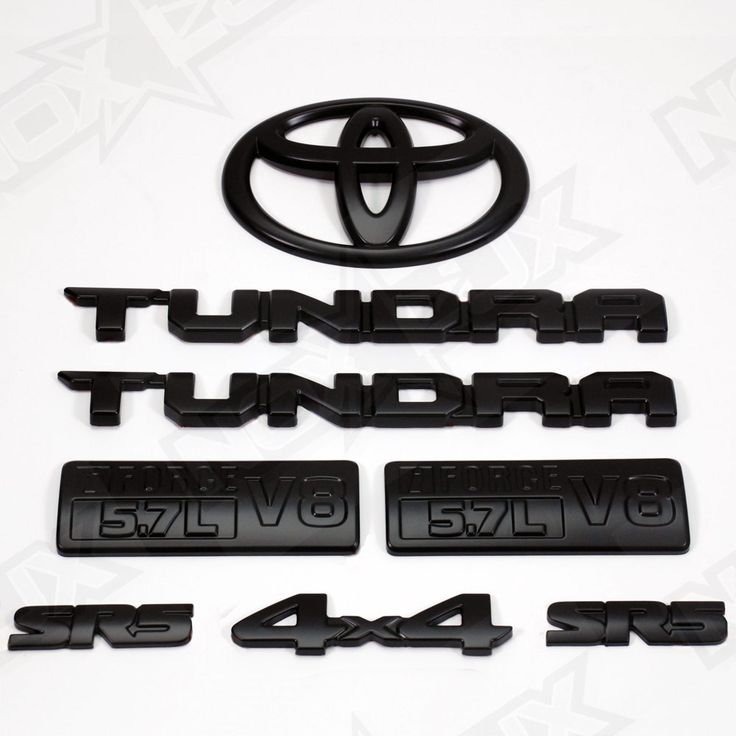 Black Out Tundra SR5 8 Piece Front 2014-2016 – Nox Lux