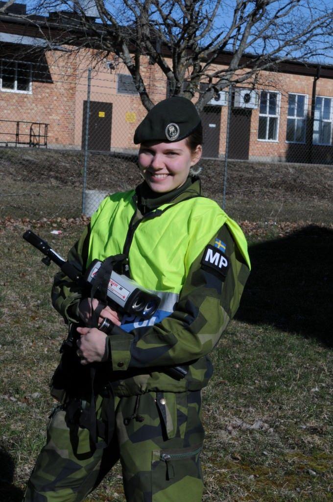Meet Sergeant Sabina Lindberg Swedish Armed Forces