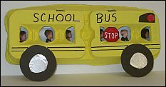 Love this for the first week of school, egg carton school bus!