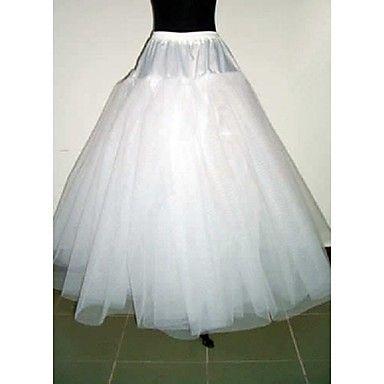 Slips+Bride+Bridesmaid+Dress+Accessories+White+3+Layer+No-Hoop+Petticoat+–+AUD+$+35.74