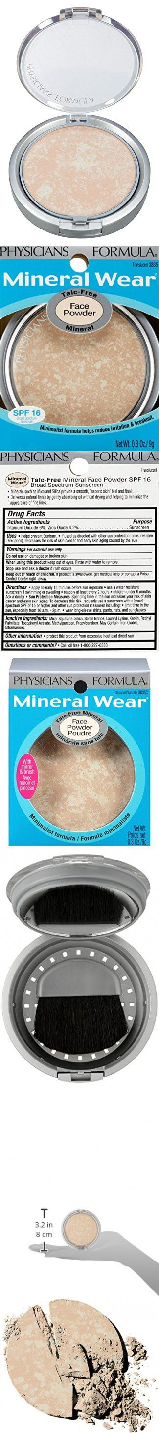 Physicians Formula Mineral Wear Talcfree Mineral Face