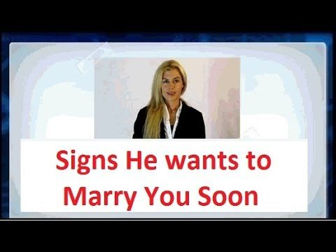 Awesome Quotes: 7 Signs He Wants To Marry You