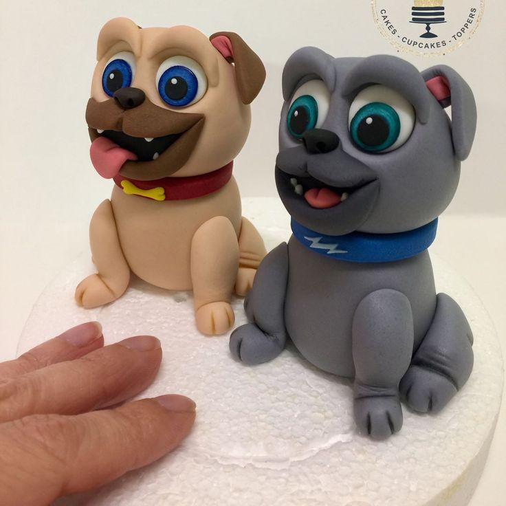 Fondant disney puppy dog pals