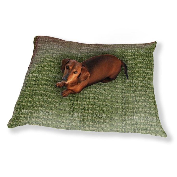 Uneekee Reptilio Green Dog Pillow Luxury Dog / Cat Pet Bed