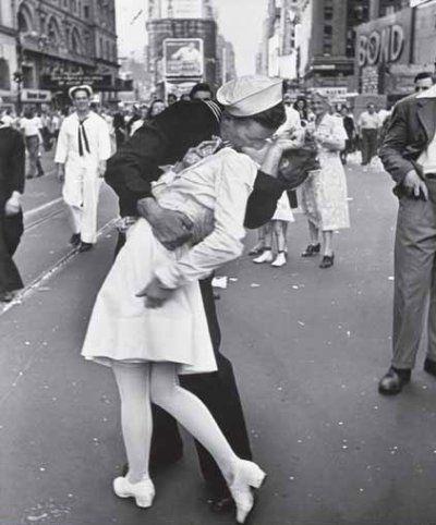 Beijo pós Guerra