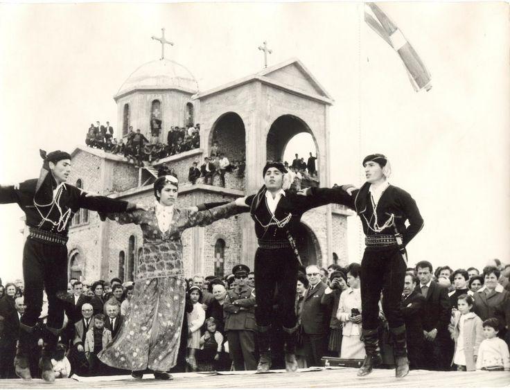 Ροδοχώρι Νάουσας-Ιερά Μονή Αγίου Γεωργίου Περιστερεώτα 1978.