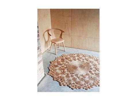 ARM-FW8 | Rug-Flower Weave - Geranium | The Banyan Tree Furniture