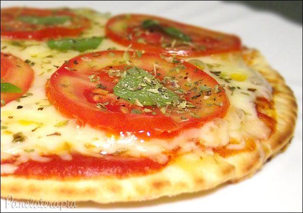 Pizza de Frigideira Caseira