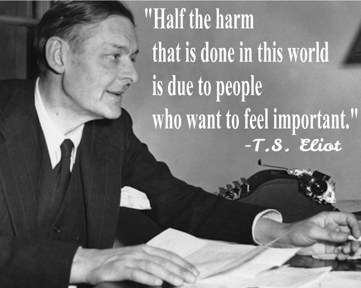 Image result for T. S. Eliot an infinity of mirrors quote