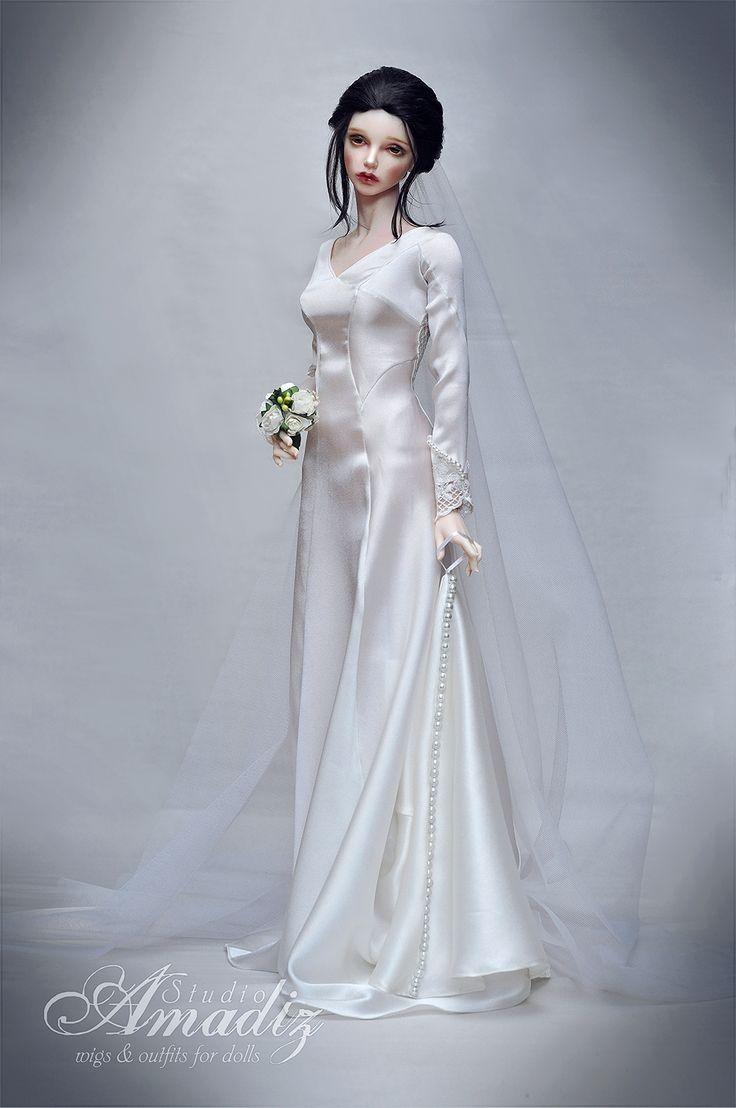 Pronuptia 1981 Super wedding dress for swimming in water