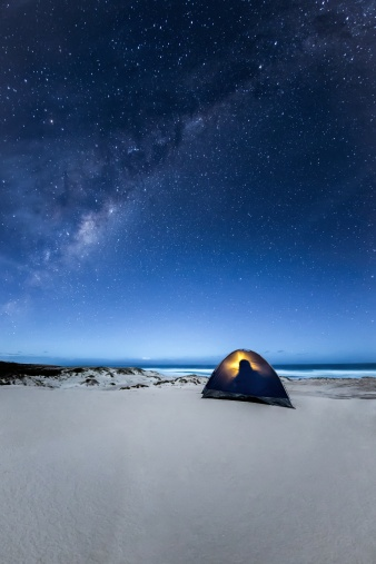 Holidays: camping under stars South Australia
