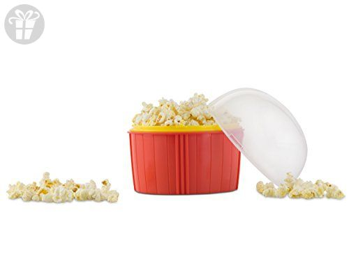 Zap Chef Poppin' Corn Maker, Red (*Amazon Partner-Link)