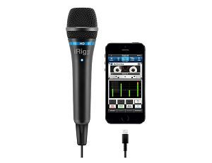 iRig Mic HD: iRig Mic HD is the digital sequel to iRig Mic, the first and most popular handheld mic for iOS devices. Featuring 24-bit output, and connectivity with iPhone, iPad and Mac/PC, iRig Mic offers unmatched quality and versatility. Now you can own a studio-quality mic that's compatible with all your... http://www.podies.com/irig-mic-hd/