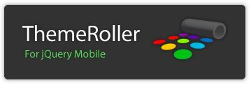 ThemeRoller for jQuery Mobile | To make building highly customized themes easy, we've created ThemeRoller for Mobile to make it easy to drag and drop colors and download a custom theme. For polished visuals without the bloat, we leverage CSS3 properties like text-shadow and box-shadow.