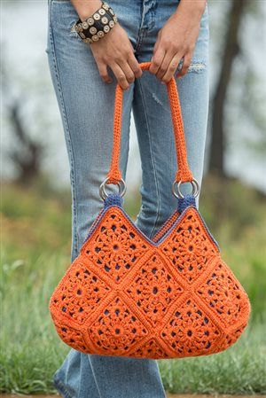 Delia Bag as seen in Crochet Scene magazine 2014