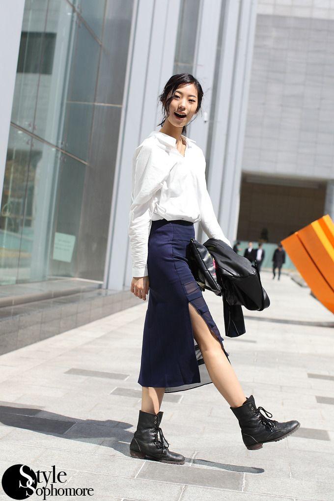 [국내스트릿패션]한국-서울 2013패션위크 길거리패션 (20130405), 최신 연예인 패션 화보, 세계 각 도시 해외 길거리패션, 쇼핑 정보 :: 패션 블로그 :: STYLE VIP