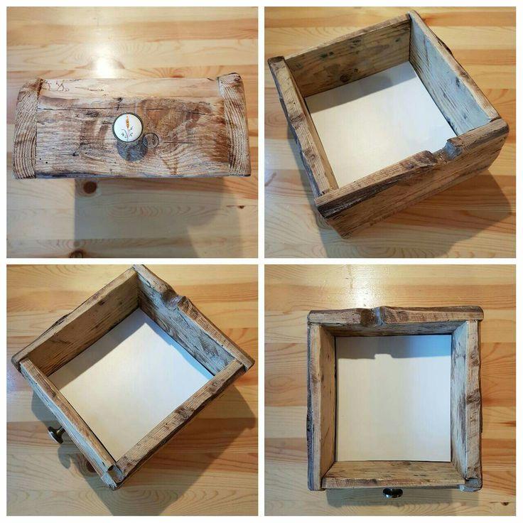 Vintage handmade drawer