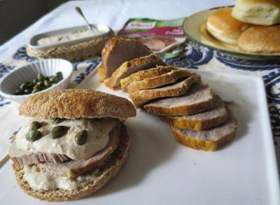 La cocina de Delfina: Sandwiches navideños