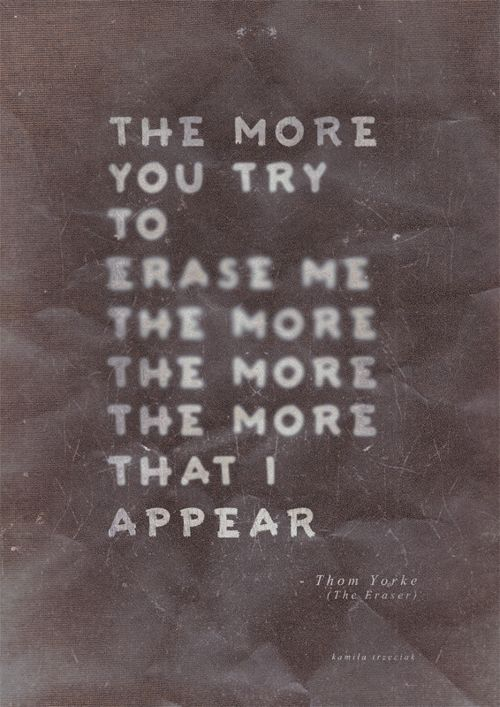 The Eraser -Thom Yorke