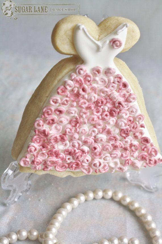 Summer Rose Wedding Dress / Gown Sugar von SugarLaneBakeShop