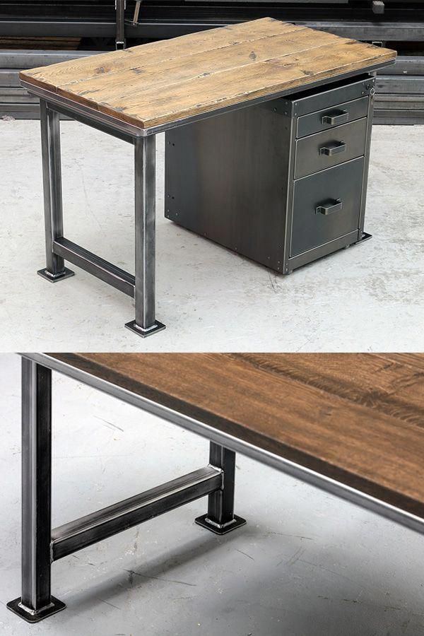 The Artisan Office Desk Traditional Vintage Industrial Design