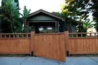 craftsman style fence and gates - Google Search