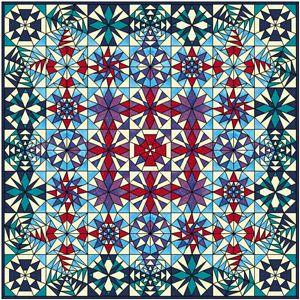 Kaleidoscoop - blok van de maand