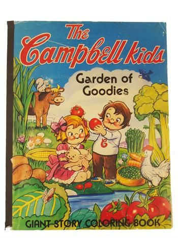 vintage coloring books | Coloring Books | Vintage The Campbell Kids
