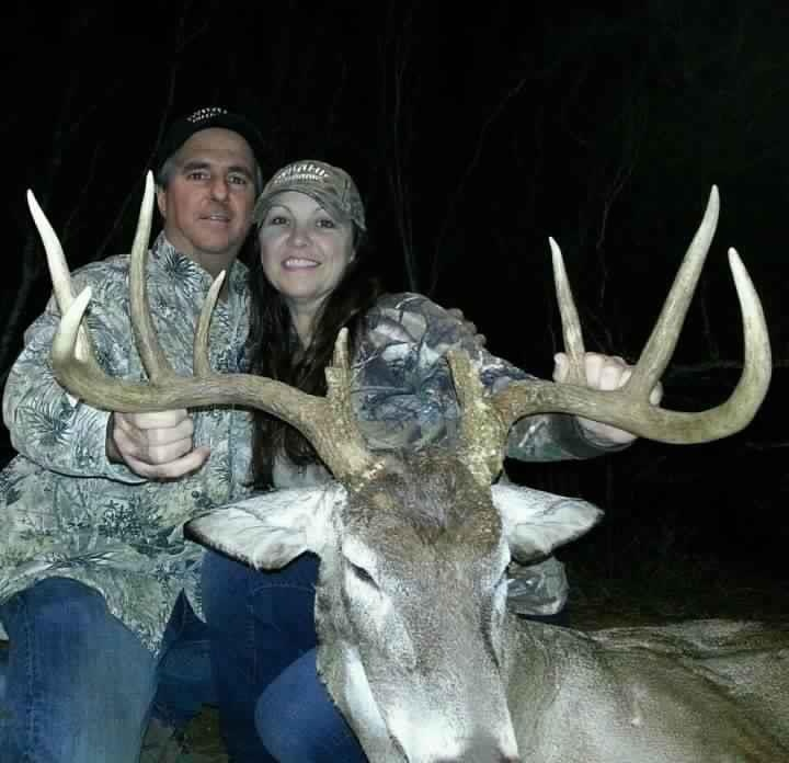 25 inch inside spread! South Texas Deer hunting! nothing like it.. get your hunt on with DynamicOutdoors and Doug Borries!