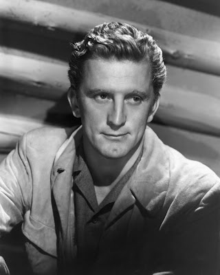 Kirk Douglas (when men didn't wear these stupid buzzed haircuts! )