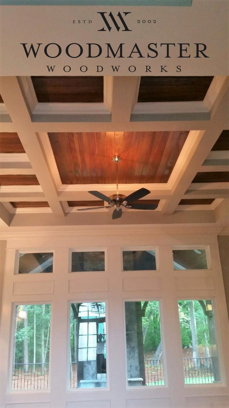 50 best Ceilings by Woodmaster Woodworks images on Pinterest ...