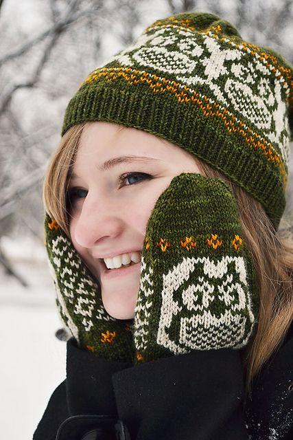 171 best mittens images on Pinterest   Knitting, DIY Christmas and ...