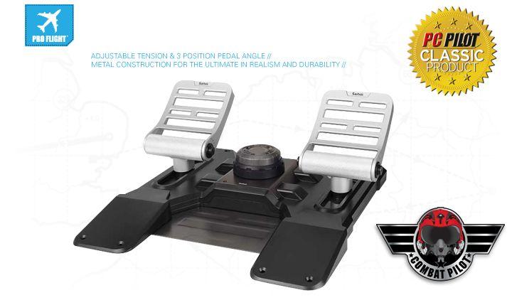 Pro Flight Combat Rudder Pedals