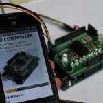 Temperature sensor with Amarino 3.0 shield. Use this for Android-Arduino-Bluetooth experiments.