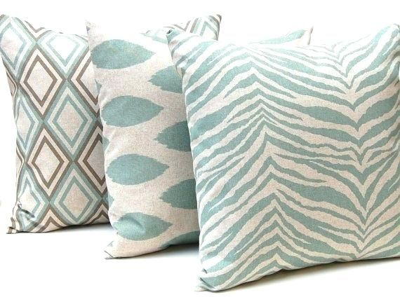 Seafoam Green Pillows Decorative Throw Pillow Covers For X Pillows