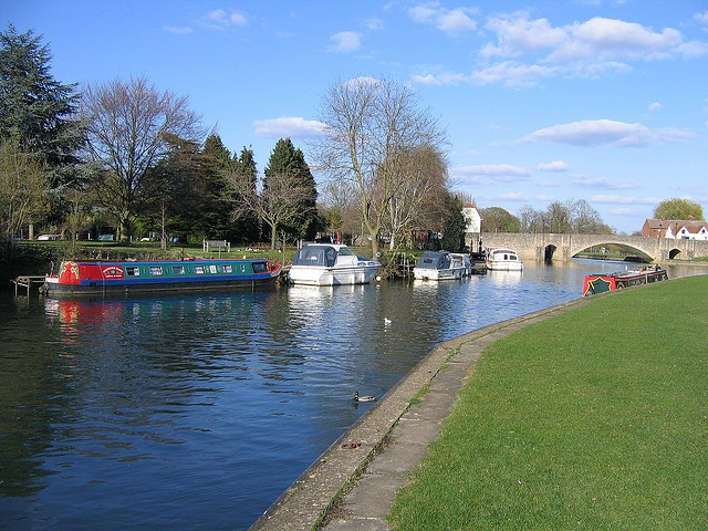 places I have been (and lived). Abingdon Oxfordshire.