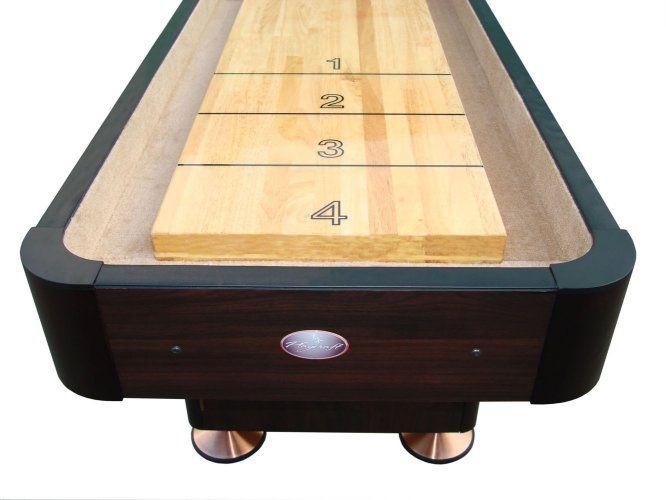 16u0027 Espresso Playcraft Woodbridge Shuffleboard Table
