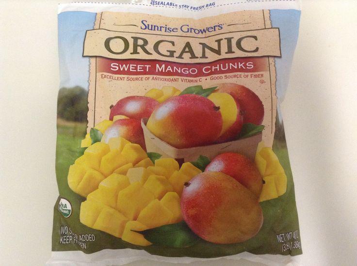 Organic frozen Mango chunks @Costco Costco | Organic ...